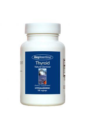 天然甲狀腺素 Thyroid Natural Glandular (100 Caps)