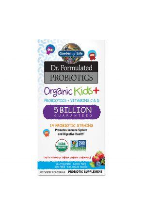 孩童益生菌 Dr. Formulated Probiotics Organic Kids (30 Chewables)