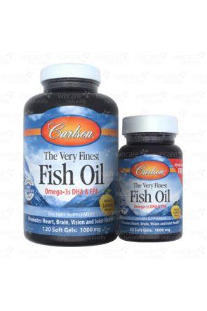 純淨挪威魚油 Very Fine Fish Oil (120+30 Soft Gels)