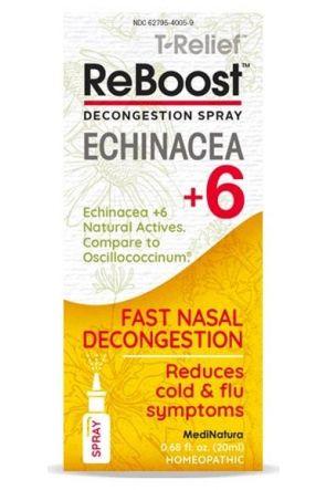 天然快速通鼻噴劑 ReBoost Nasal Spray Echinacea +6 Decongestion (20ml)