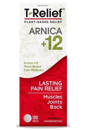 肌肉關節天然止痛錠 T-Relief Pain Tablets (100 Tabs)