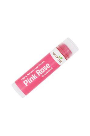 Natural Lip Gloss Pink Rose