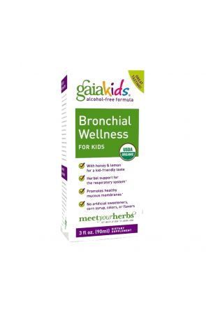 兒童顧氣管天然糖漿 GaiaKids Bronchial Wellness for Kids (3 oz)